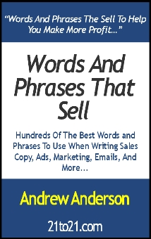 Words and Phrases That Sell