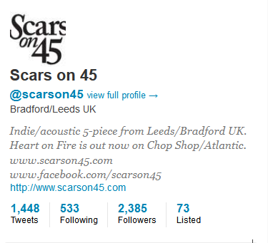 Scars On 45 on Twitter