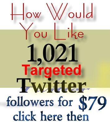 How To Get 1,021 New Targeted Twitter Followers Guaranteed