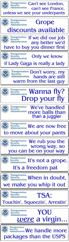 TSA's New Slogans – Which One Is Your Favorite?